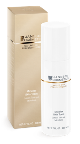 Мицеллярный тоник с гиалуроновой кислотой,Janssen Micellar Skin Tonic,200 мл.