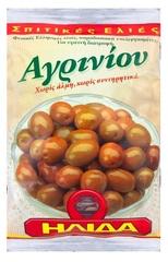 Оливки Агриниу с косточкой в фольге Ilida 250 гр