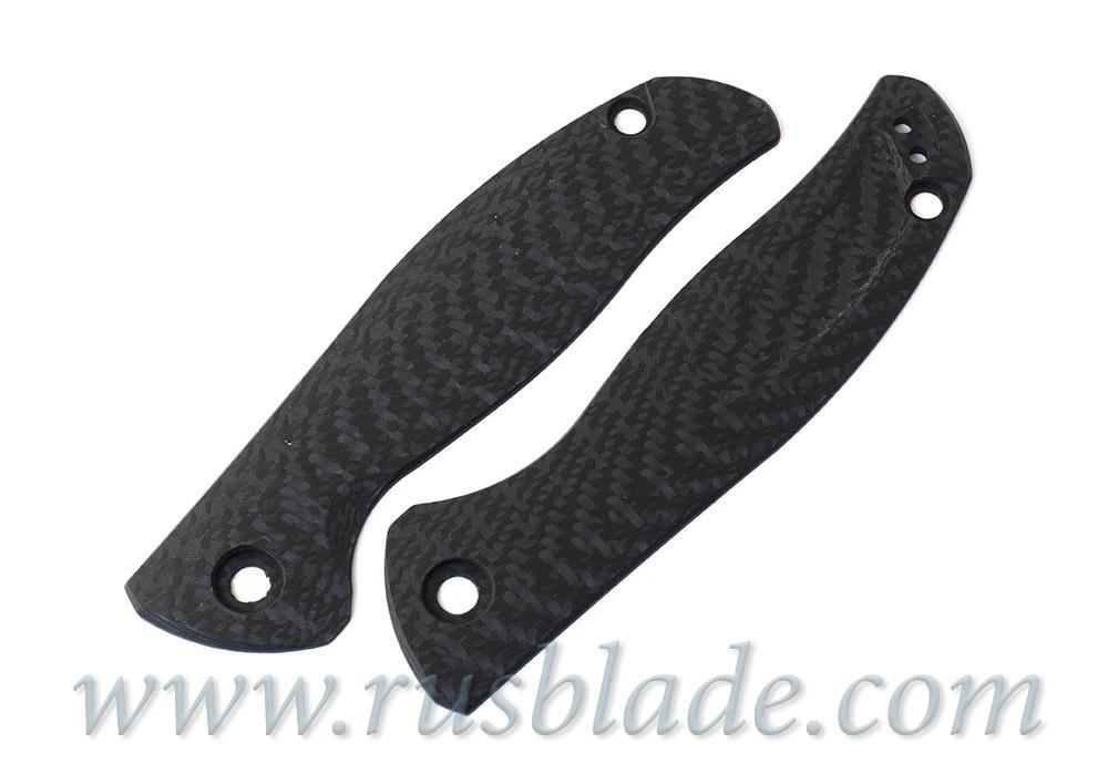 Shirogorov F3 carbon fiber handle scales - фотография