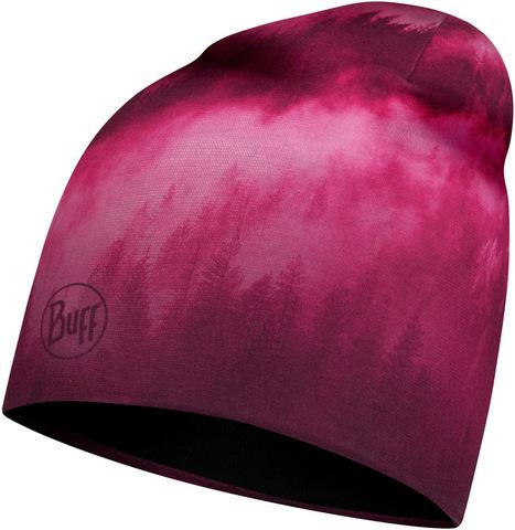 Тонкая флисовая шапочка Buff Hat Polar Microfiber Hollow Pink фото 1