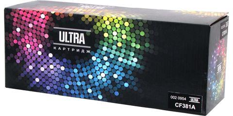 Картридж лазерный цветной ULTRA 312A CF381A голубой (cyan), до 2700 стр. - купить в компании MAKtorg
