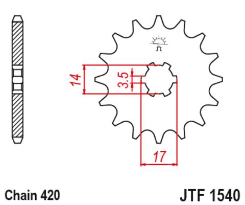 JTF1540