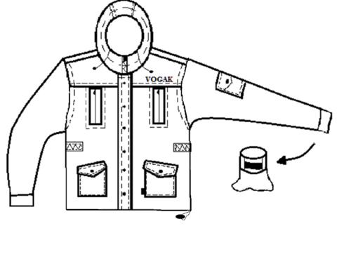 Костюм для охоты, рыбалки Вожак (Ткань Твил 635-5)