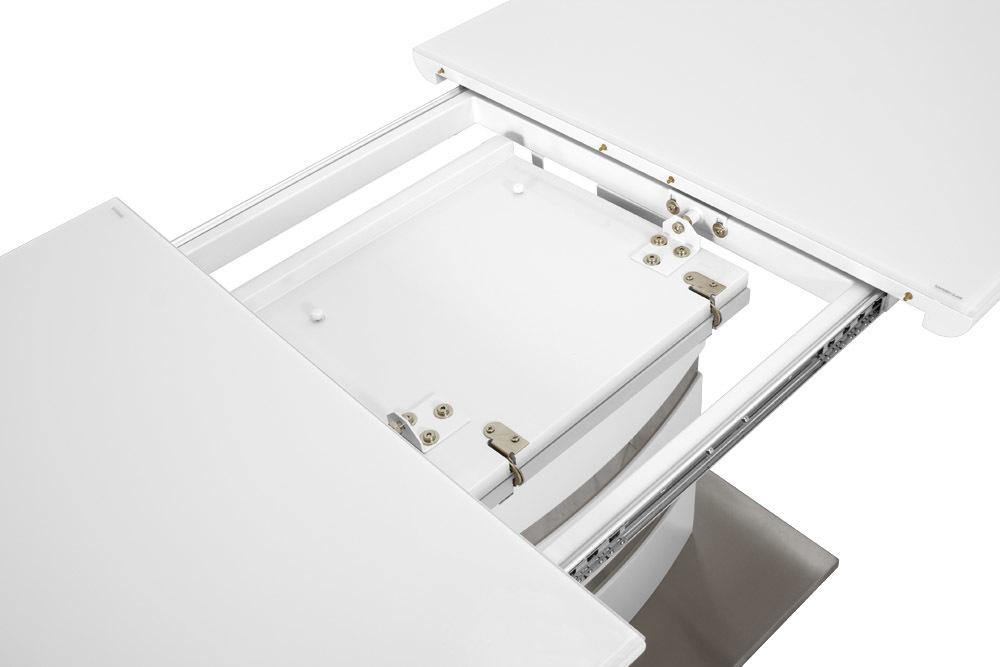 Стол обеденный AVANTI SKY (120) WHITE (белый)