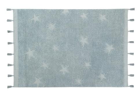 Ковер Lorena Canals Hippy Stars Aqua Blue (120 x 175)