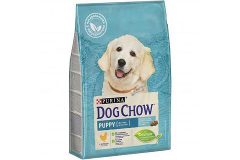 Сухой корм Purina Dog Chow для щенков всех пород, курица