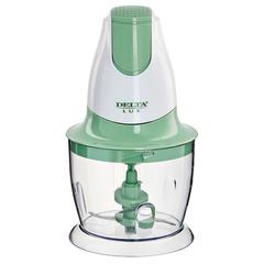Измельчитель электрический 300 Вт DELTA LUX DL-7417 белый с зеленым