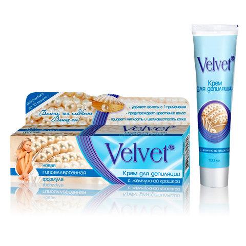 Velvet Крем для депиляции с жемчужной крошкой