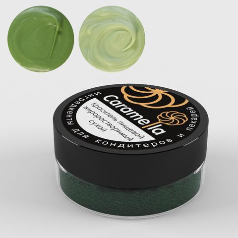 Caramella жиро-ый краситель,Зеленый,10гр