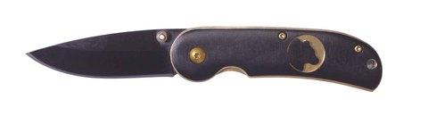Нож Stinger, 70 мм, черный