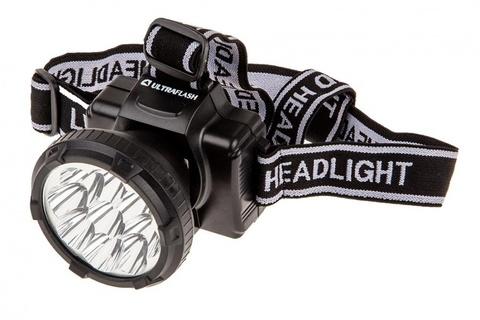 Фонарь ULTRAFLASH, налобный, аккум, LED5363