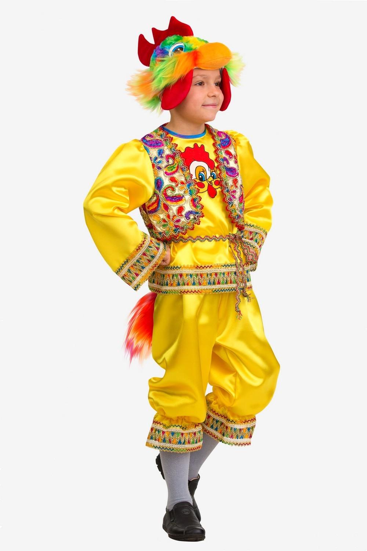 Карнавальный костюм Петушок Кукарека