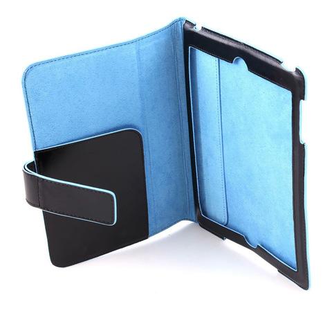 Чехол Piquadro Blue Square, цвет черный, 15x21x15 см