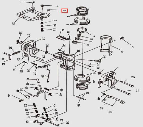 Втулка для лодочного мотора T9.8 Sea-PRO (11-1)