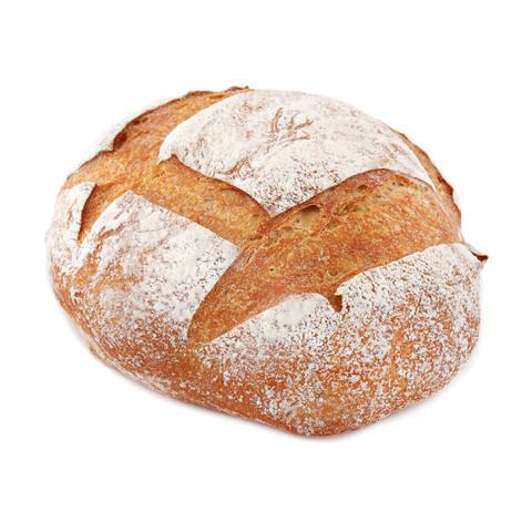 Хлеб бездрожжевой подовый белый 420 г, (вл.12)