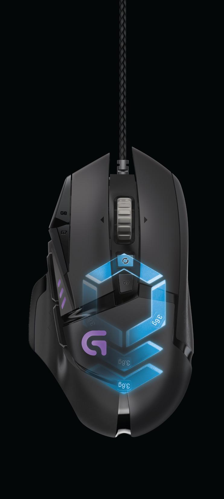Logitech G502 Proteus Spectrum RGB