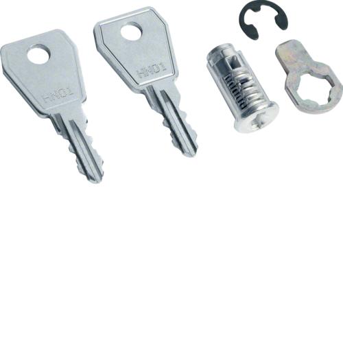 Личинка дверного замка с 2-мя ключами стандартная,универсальная Volta