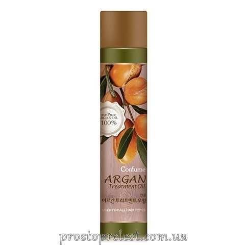Welcos Confume Argan Treatment Spray - Лак для волос с Аргановым маслом (средняя степень фиксации)
