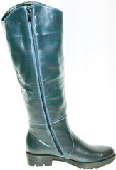 кожаные сапоги женские