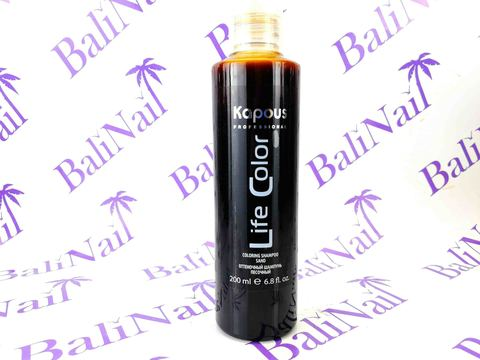 Оттеночный шампунь для волос Песочный, 200 мл