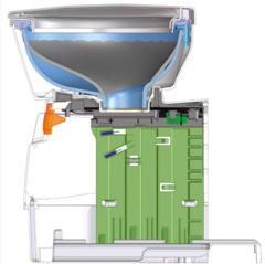 Купить туалет кассетный с емкостью Dometic CTW 4110 от производителя с доставкой.