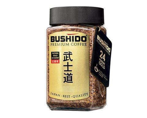 Кофе растворимый Bushido Katana Gold 24 Karat, 100 г