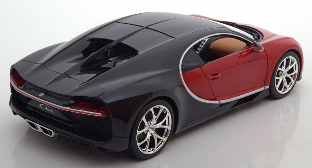 Коллекционная модель Bugatti Chiron 2016 Red
