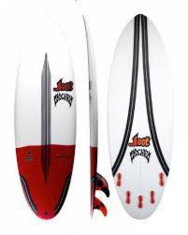 """Серфборд LOST 6'2"""" PUDDLE JUMPER ROUND PIN CARBONWRAP RD FCS2 5 FIN"""