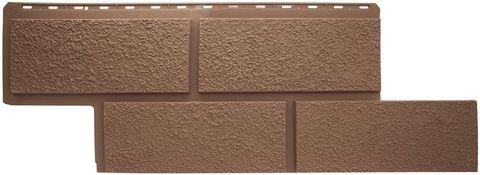 Фасадная панель Альта Профиль Неаполь Терракотовый 1250х450 мм