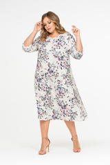 Платье Алирио с нежным принтом 518111