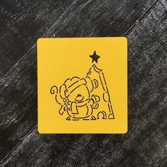 Мышка №47 с сырной ёлкой