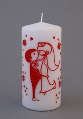 Свеча влюбленные