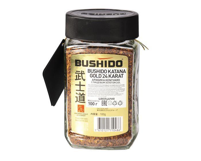 Bushido Katana Gold 24 Karat, 100 г