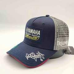 Кепка Ямаха триумф 46, с сеткой по бокам (Бейсболка Yamaha triumph 46 с сеткой) темно - синяя 001