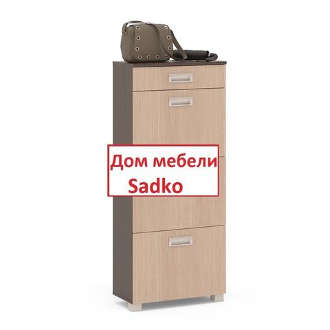 Обувница ТО-3М венге/бел.дуб