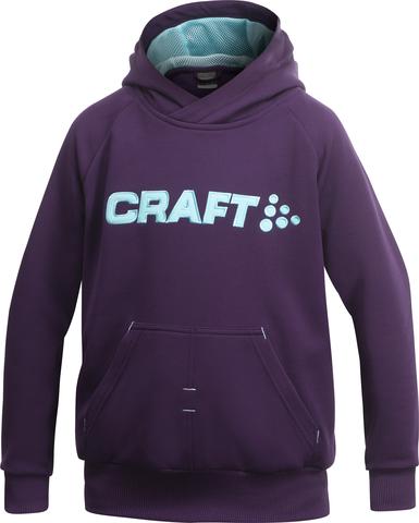 Толстовка Craft Flex Hood детская фиолетовая