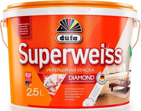 Dufa Superweiss D 4/Дюфа Супервайс Д 4 Краска матовая супербелая универсальная
