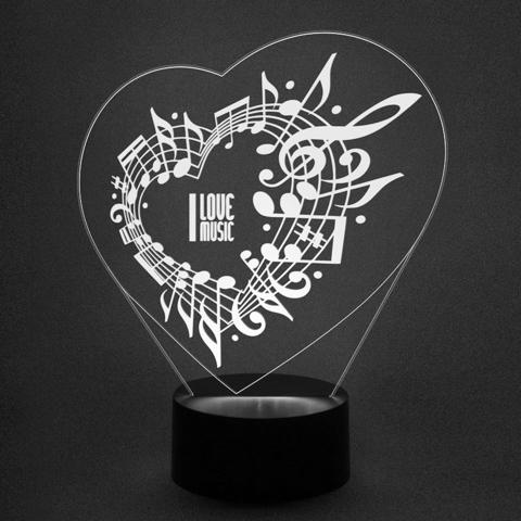 ночник музыка любовь к музыке