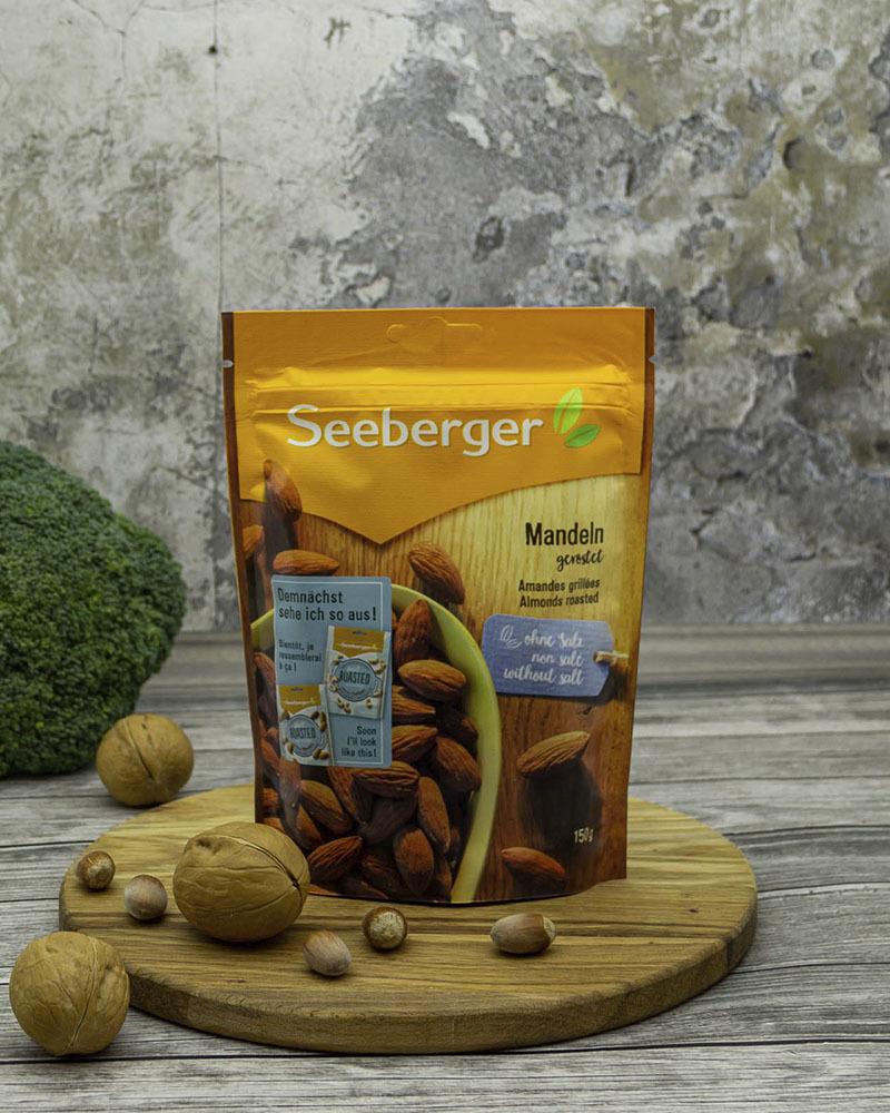 Миндаль Seeberger жареный 150 гр.