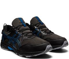 Кроссовки непромокаемые Asics Gel Venture 8 WP Black-Reborn Blue мужские