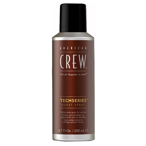 American Crew Styling: Спрей для объема волос (Techseries Boost Spray), 200мл