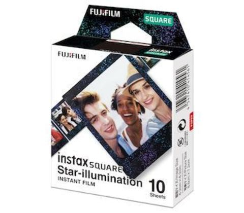 Fotoaparat lenti \ Картридж Fujifilm Instax SQUARE Star illumination, 10 lent