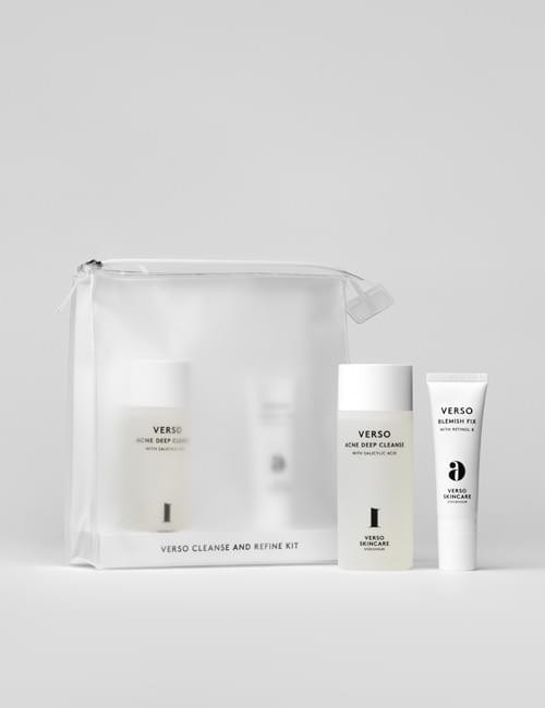 Набор Verso Cleanse and Refine kit