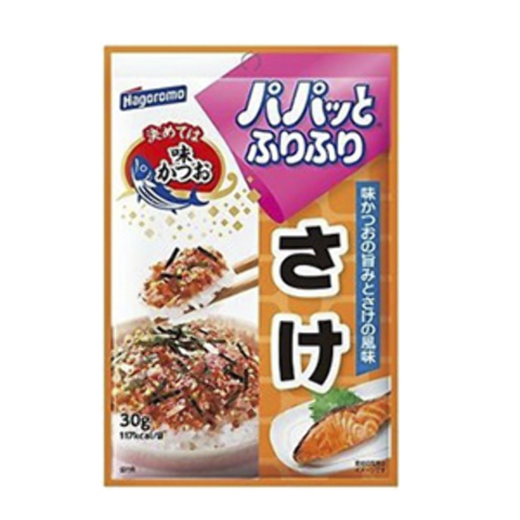 Приправа Хагоромо для риса(для овощей,картошки и др круп)  с лососем HAGOROMO