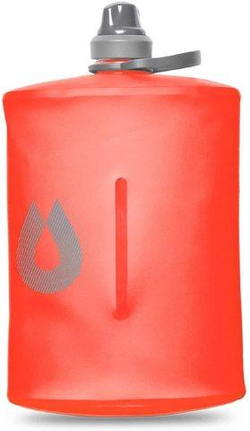 Мягкая фляга для воды  HydraPak Stow (1 литр), красная