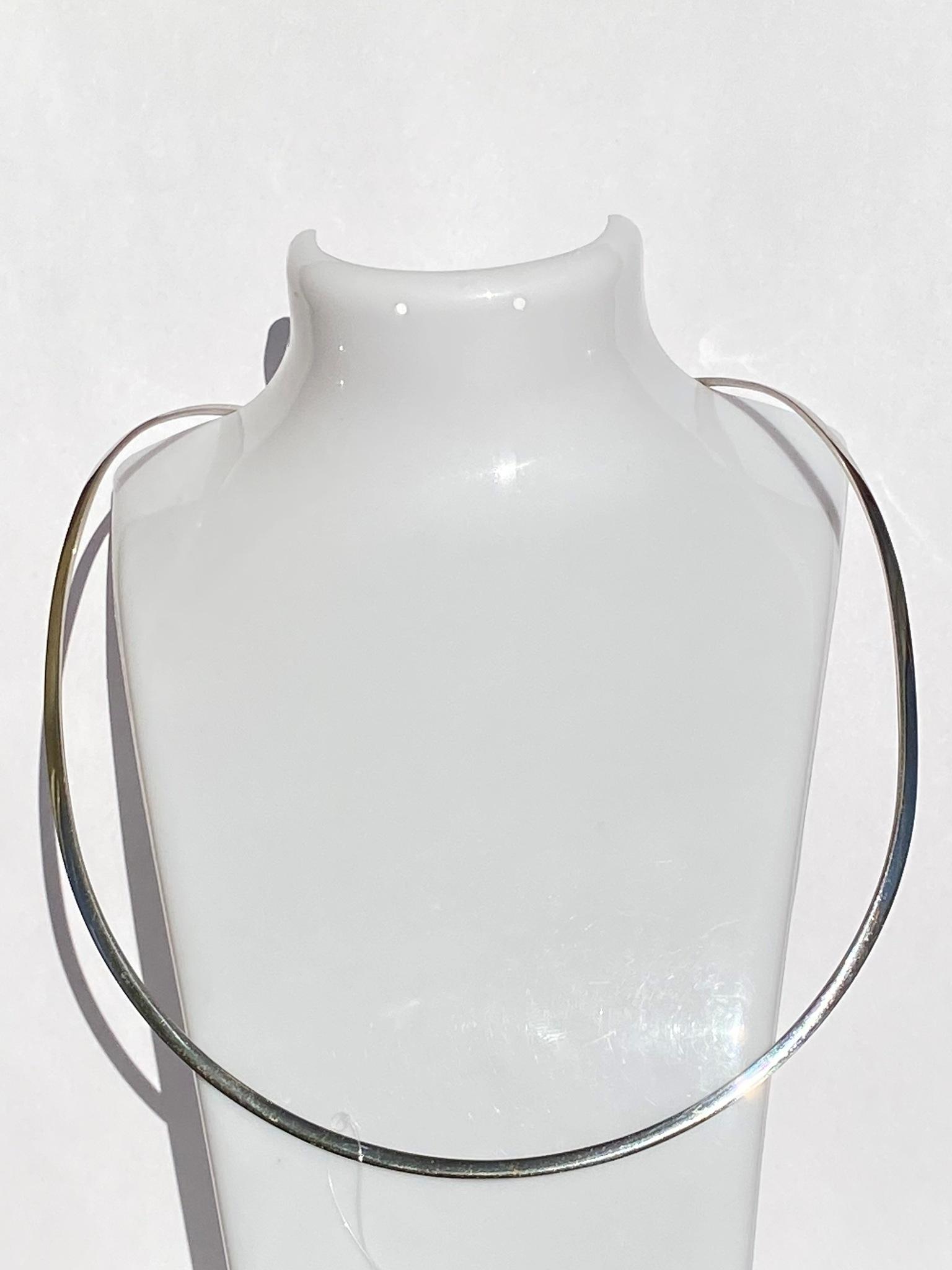 Гривна Б(серебряное колье)