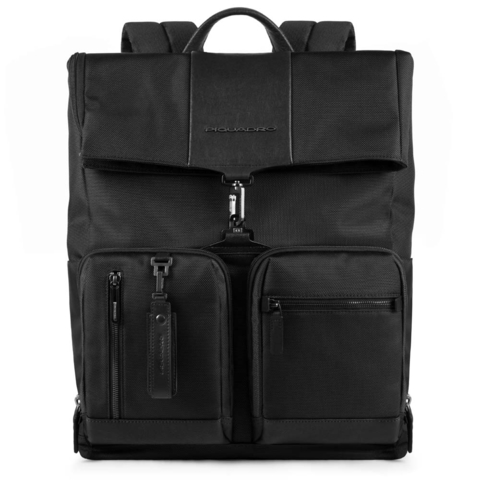 Рюкзак Piquadro Brief, черный, 34,5x42,5x15 см