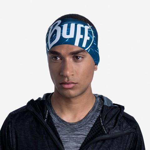 Теплая спортивная повязка на голову Buff Headband Tech Fleece Xcross фото 2
