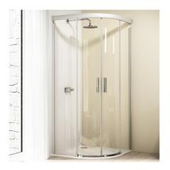 Душевой уголок с раздвижными дверьми 90х120х190 см Huppe Design elegance 8E3015.087.321 фото