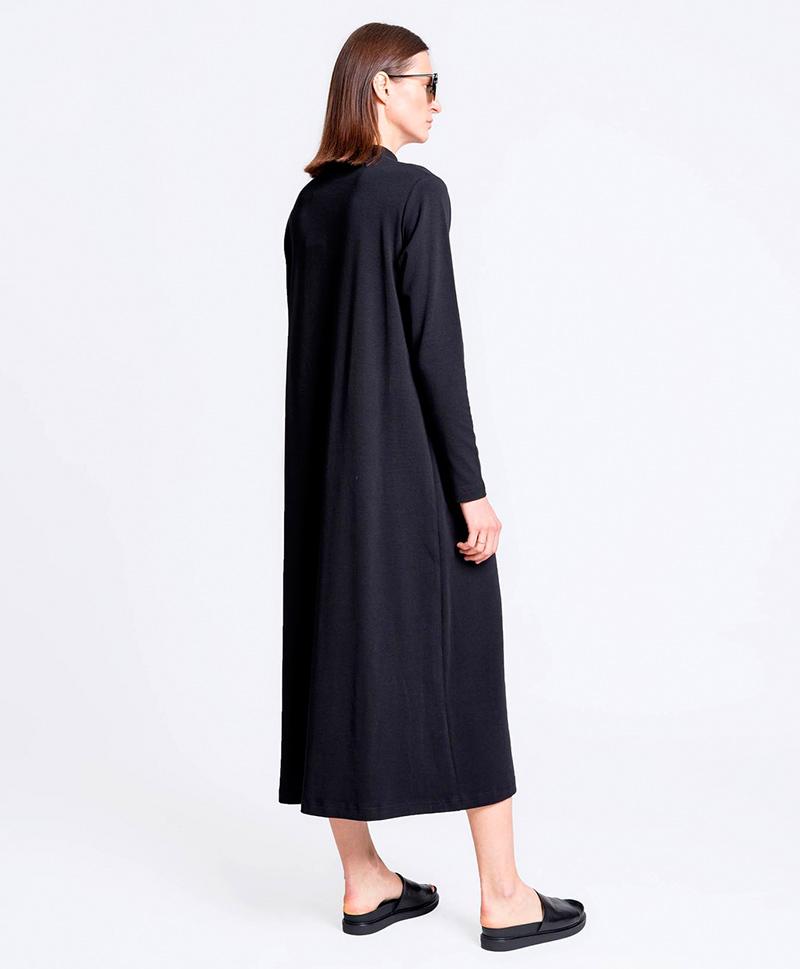 Платье чёрного цвета